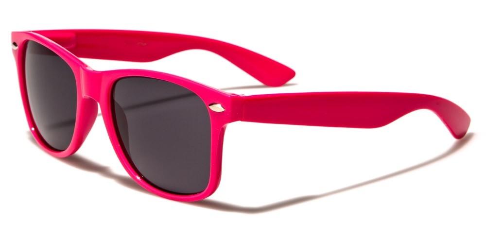 f4c23e9f4c Classic Pink Unisex Sunglasses Wholesale WF01-PINK - One Pair