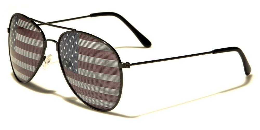 c0f02e0c1d2 USA Flag Aviator Unisex Sunglasses - AV1028-USA. AV1028-USA