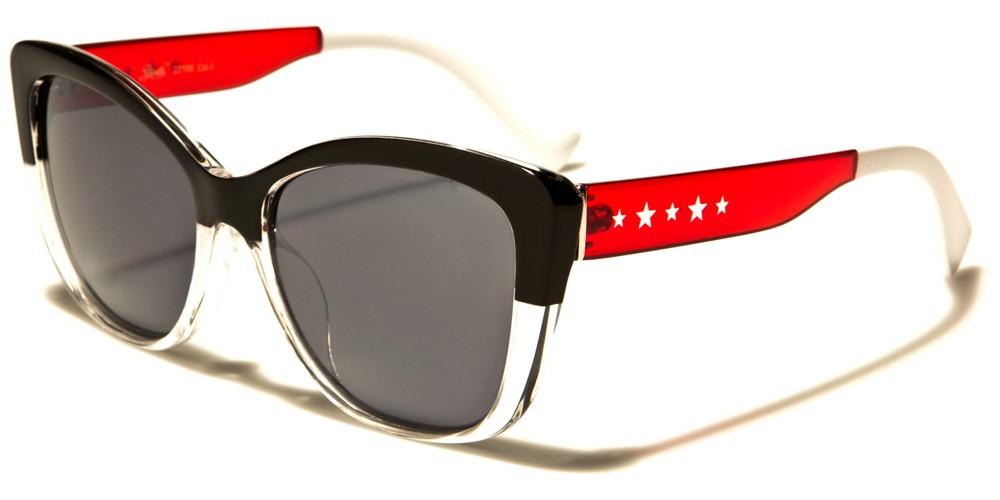 27facd34719 Giselle Cat Eye USA Flag Sunglasses Wholesale GSL22106