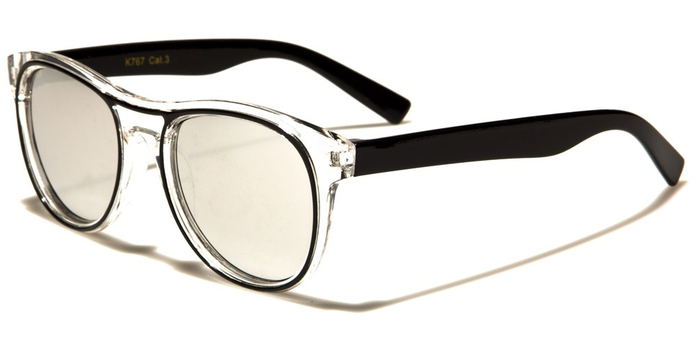 171e9089e10 Classic Mirrored Kids Bulk Sunglasses K-767