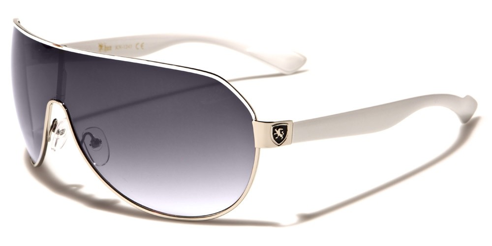 545c39789bd Khan Aviator Men s Sunglasses - KN1243-WHT. KN1243-WHT
