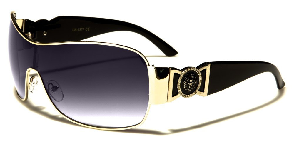 Designer Kleo Shield Ladies//Women//Girl Rimless Pilot Wrap Sunglasses UV400