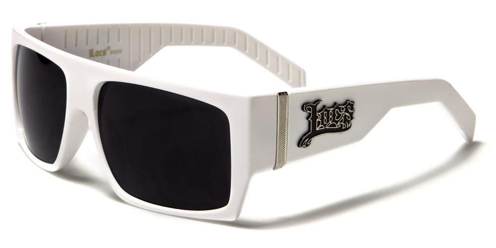 d32db5ee2b Locs Rectangle Men s Sunglasses Wholesale LOC91010-WHT