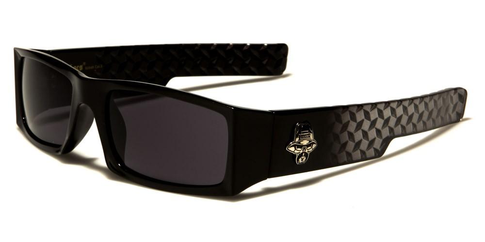 1675f7e8e2 Locs Rectangle Men s Sunglasses - LOC91049-BK. LOC91049-BK