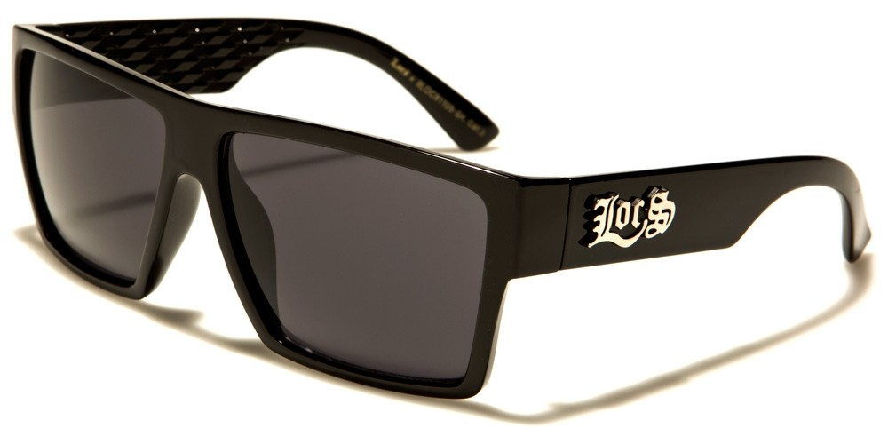 9199caba44aa Locs Square Men's Bulk Sunglasses LOC91105-BK