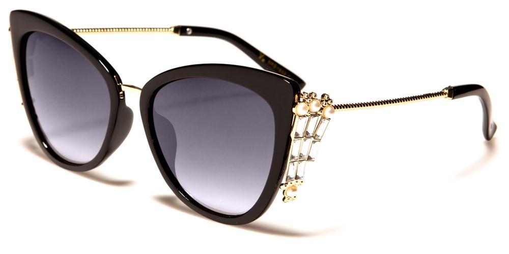 f69a6240f7c VG Cat Eye Rhinestone Wholesale Sunglasses RS1933