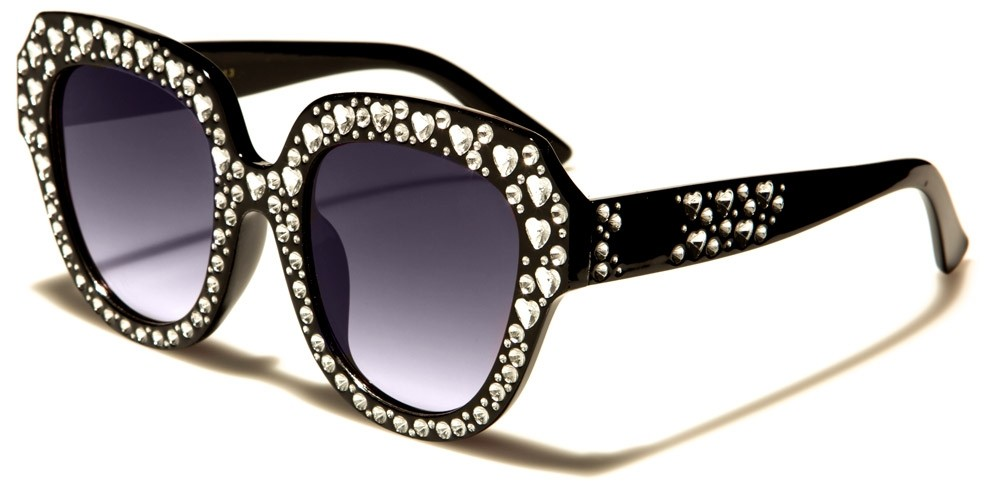 d07f848dcbe VG Oval Rhinestone Sunglasses Wholesale RS1934