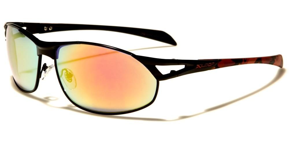 e4d3ef4b02 X-Loop Oval Camouflage Bulk Sunglasses XL1417