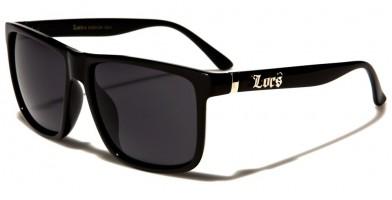 Locs Classic Men's Wholesale Sunglasses LOC91055-BK - One Pair