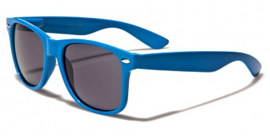 Classic Blue Unisex Sunglasses Wholesale WF01-BLUE - One Pair