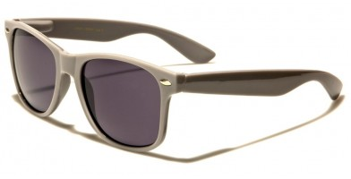Classic Gray Unisex Sunglasses Wholesale WF01-GRAY - One Pair