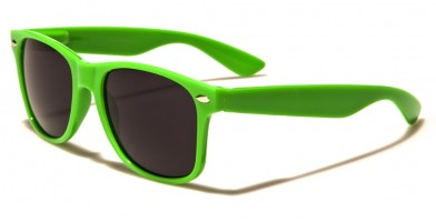 Classic Green Unisex Sunglasses Wholesale WF01-GREEN - One Pair