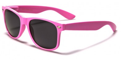 Classic Unisex Sunglasses In Bulk WF01-LTPINK - One Pair