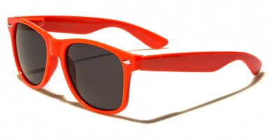 Classic Orange Unisex Sunglasses WF01-ORANGE - One Pair