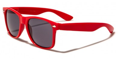 Classic Red Unisex Sunglasses Wholesale WF01-RED - One Pair