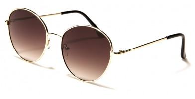 Round Unisex Fashion Wholesale Sunglasses 711034