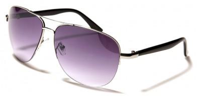 Aviator Semi-Rimless Unisex Bulk Sunglasses 711039