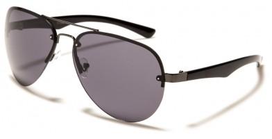 Aviator Rimless Unisex Wholesale Sunglasses 711042