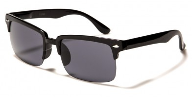 Semi-Rimless Classic Men's Sunglasses Bulk 712065