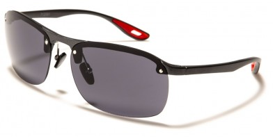 Sports Semi-Rimless Men's Sunglasses Wholesale 712081