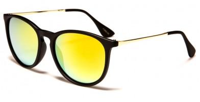 Classic Round Unisex Wholesale Sunglasses 713002-CM