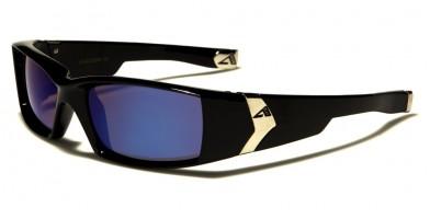 Arctic Blue Rectangle Men's Bulk Sunglasses AB-20