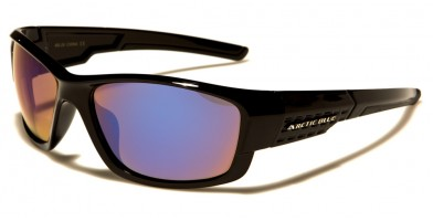 Arctic Blue Rectangle Men's Wholesale Sunglasses AB-29