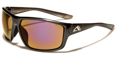 Arctic Blue Rectangle Men's Wholesale Sunglasses AB-36