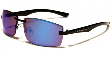 Arctic Blue Rimless Men's Wholesale Sunglasses AB-42