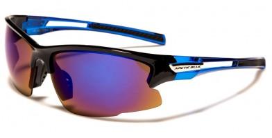 27540ff0f9c ... Arctic Blue Wrap Around Men s Wholesale Sunglasses AB-45 ...