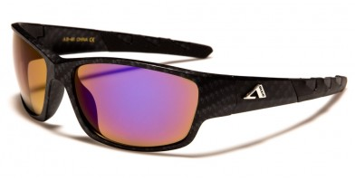 Arctic Blue Wrap Around Sunglasses Bulk AB-46