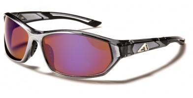 Arctic Blue Wrap Around Men's Bulk Sunglasses AB-49