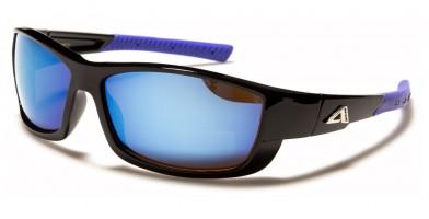 Arctic Blue Rectangle Men's Wholesale Sunglasses AB-55