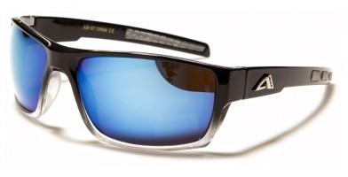 Arctic Blue Rectangle Men's Wholesale Sunglasses AB-57