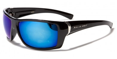 Arctic Blue Square Men's Sunglasses Wholesale AB01MIX