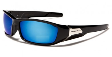 Arctic Blue Rectangle Men's Wholesale Sunglasses AB09MIX