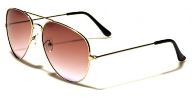 Air Force Aviator Unisex Wholesale Sunglasses AF101-GDGC