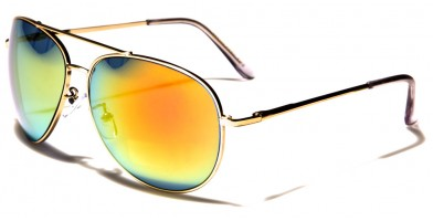 Air Force Aviator Unisex Wholesale Sunglasses AF107-MGRV