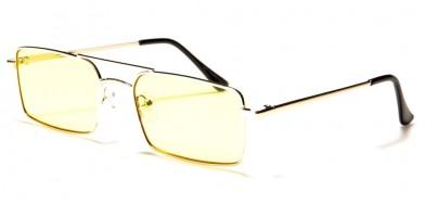 Air Force Square Unisex Sunglasses Wholesale AF119-MIX