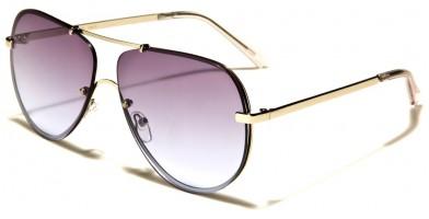 Aviator Oceanic Lens Unisex Sunglasses Bulk AV-1550-FT-OC