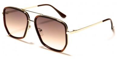 Squared Aviator Men's Wholesale Sunglasses AV-1672