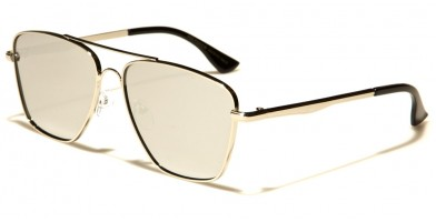 Aviator Brow Bar Unisex Wholesale Sunglasses AV5113