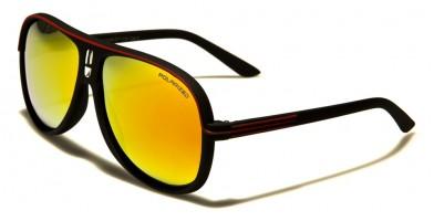 Polarized Aviator Unisex Wholesale Sunglasses AV5265POL-SFT-CM