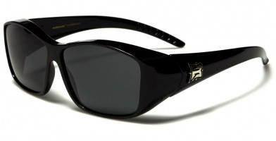 Barricade Polarized Fit-Over Bulk Sunglasses BAR609PZ