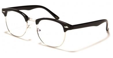 Blue Light Blocking Classic Glasses Wholesale BL2001-SILV