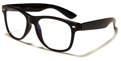 Blue Light Blocking Classic Glasses in Bulk BL2004-BLK