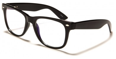 Blue Light Blocking Classic Wholesale Glasses BL2005-BLK