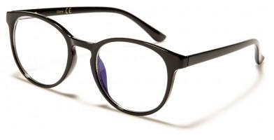 Blue Light Blocking Classic Wholesale Glasses BL2007-BLK