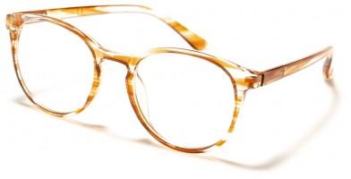 Blue Light Blocking Classic Bulk Glasses BL2007-PNK-BRN