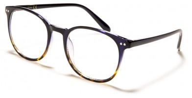 Blue Light Blocking Classic Glasses in Bulk BL2008-BLU-BRN